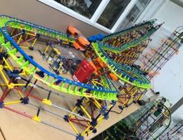 DM_Model roller coaster in workshop